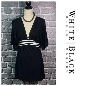 White House Black Market Top Kimono Slvs Sz M